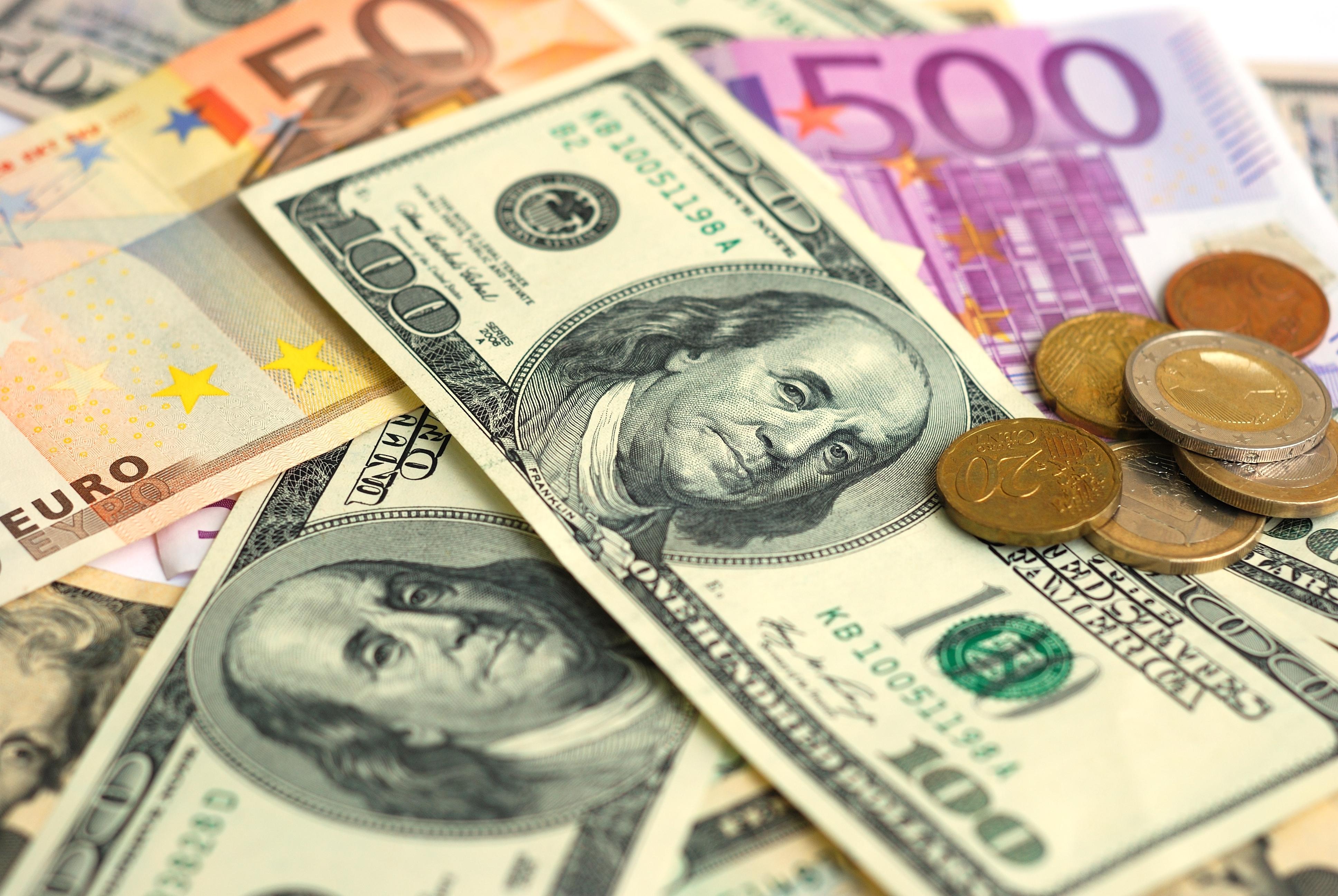 Картинка с долларами евро, открытки про любовь